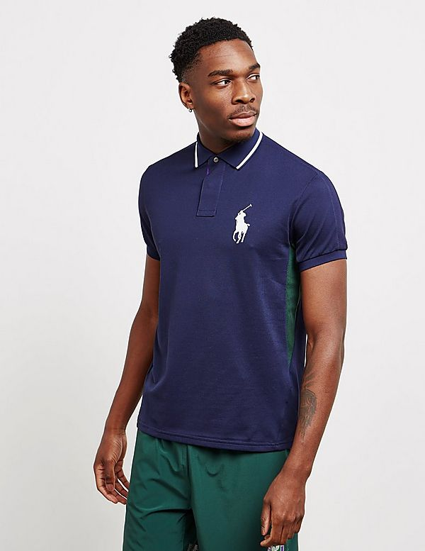 Polo Ralph Lauren Wimbledon Polo Player Short Sleeve Polo Shirt