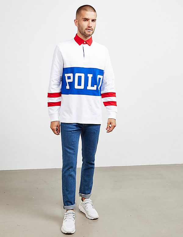 Polo Ralph Lauren Track Long Sleeve Rugby Polo Shirt