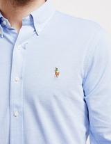 Polo Ralph Lauren Pique Long Sleeve Oxford Shirt