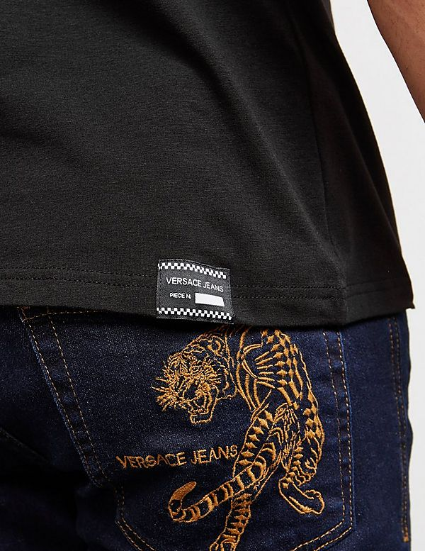 Versace Jeans Couture Circle Logo Short Sleeve T-Shirt