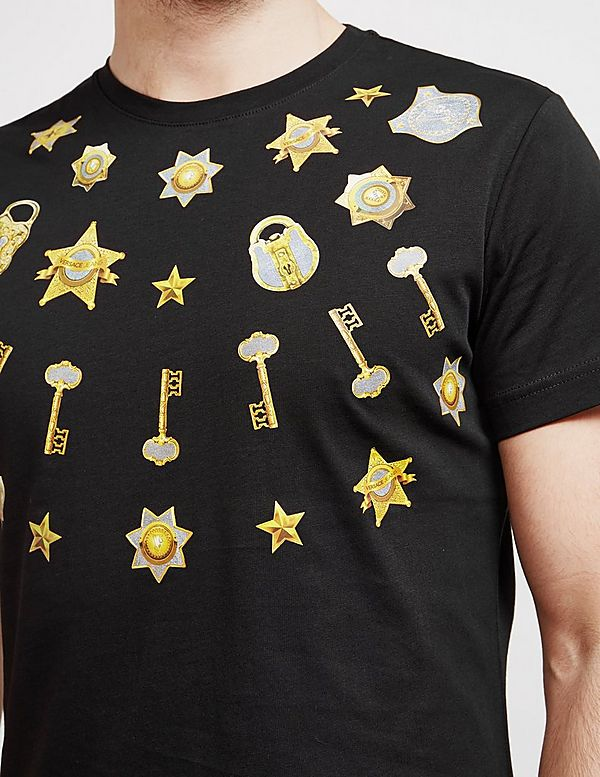 Versace Jeans Couture Badge Short Sleeve T-Shirt - Online Exclusive