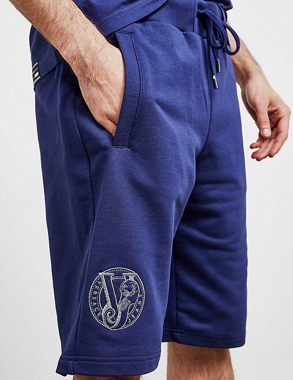 Versace Jeans Couture Logo Fleece Shorts