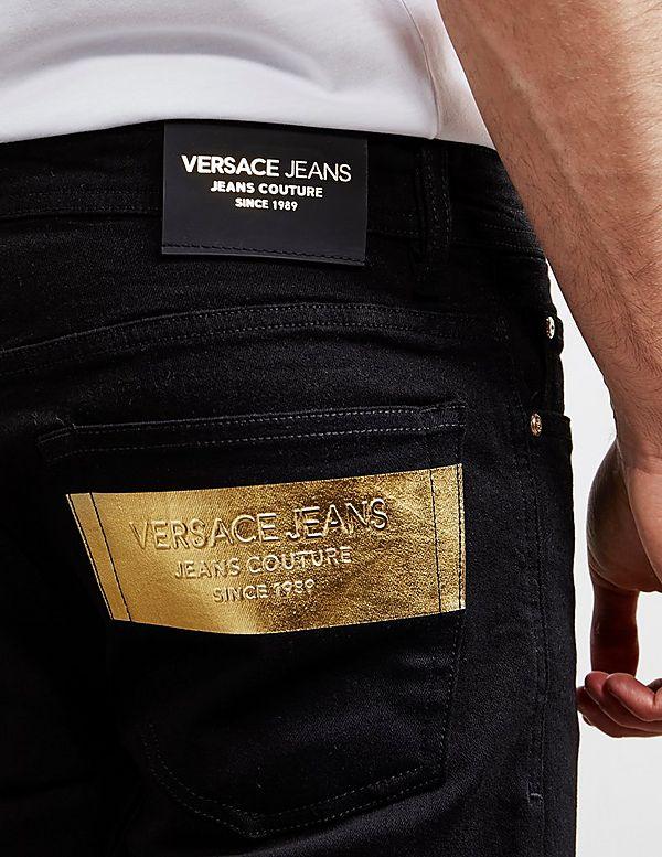 Versace Jeans Couture Foil Patch Slim Jeans
