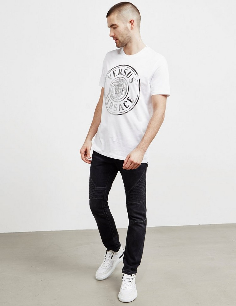 Versus Versace Cav Lion Short Sleeve T-Shirt