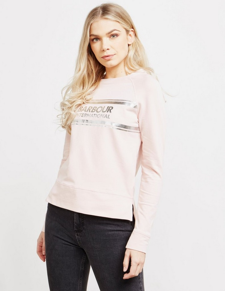 Barbour International Silver Foil Sweatshirt