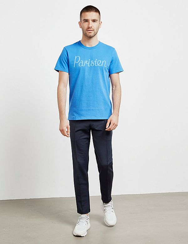 Maison Kitsune Parisien Short Sleeve T-Shirt