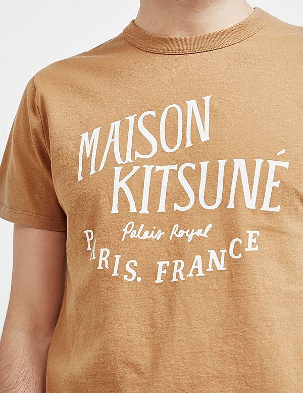 Maison Kitsune Print Short Sleeve T-Shirt