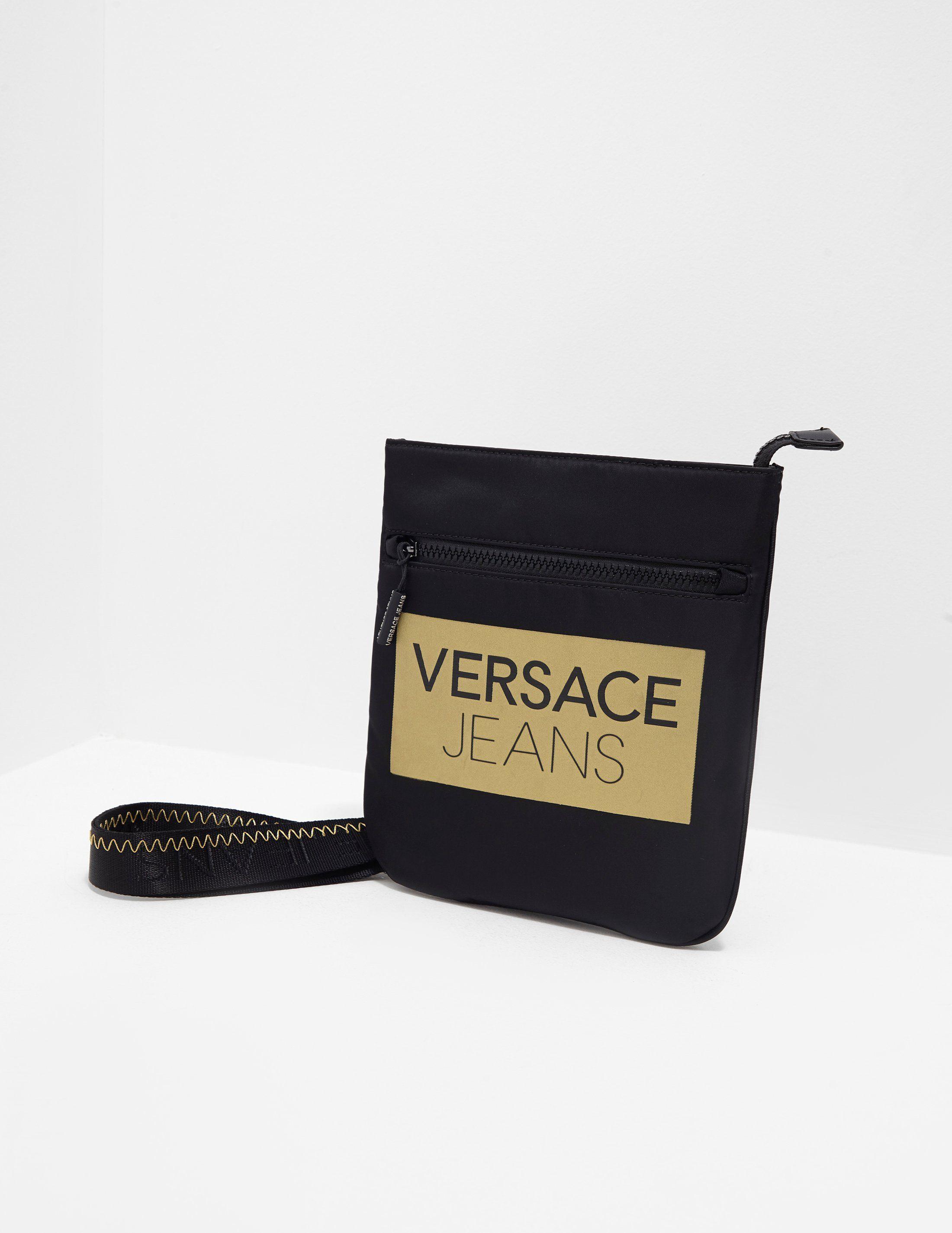 Versace Jeans Block Logo Small Item Bag