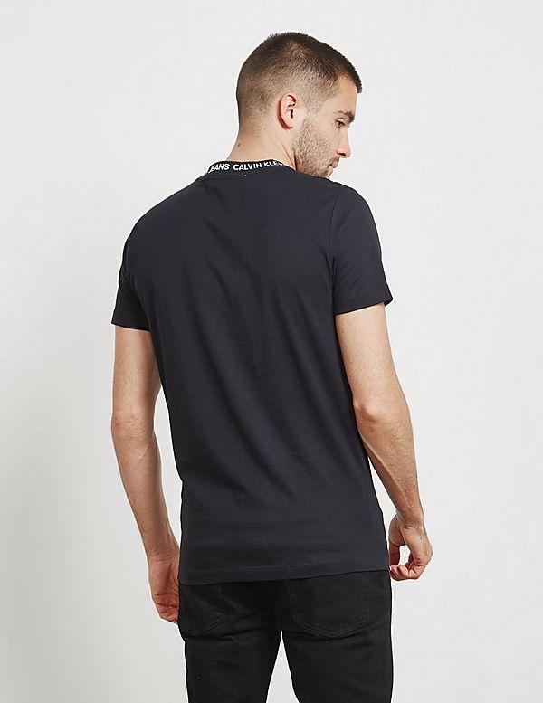 Calvin Klein Logo Neck Short Sleeve T-Shirt