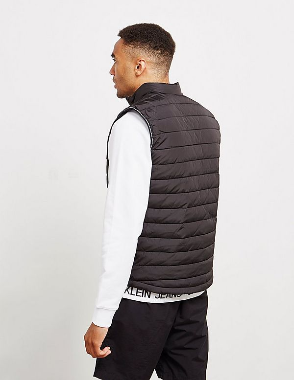 Calvin Klein Institutional Logo Padded Gilet