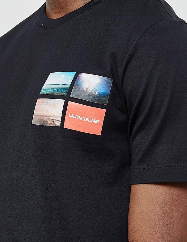Calvin Klein Photo Logo Short Sleeve T-Shirt