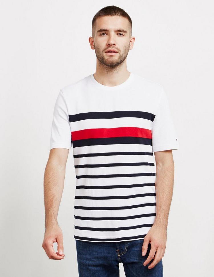 Tommy Hilfiger Global Stripe Short Sleeve T-Shirt