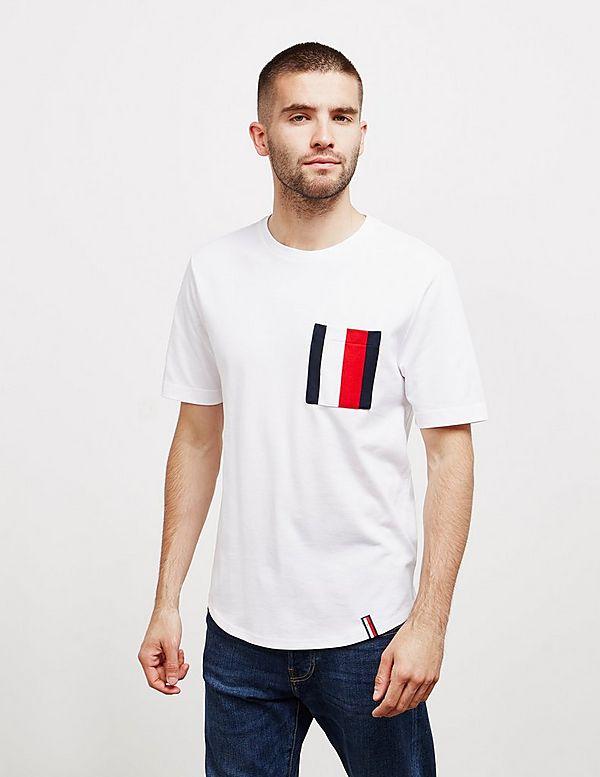 Tommy Hilfiger Stripe Pocket Short Sleeve T-Shirt