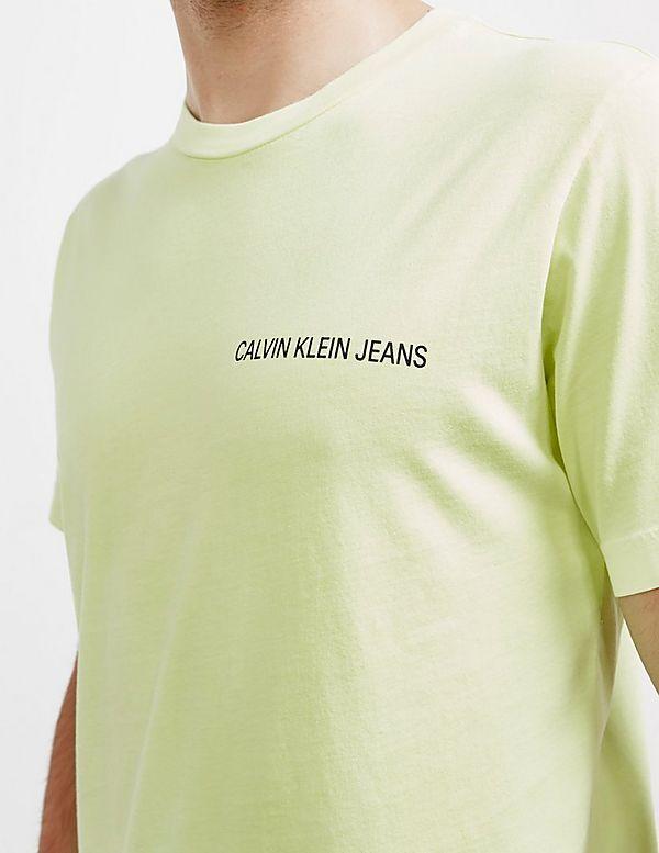 Calvin Klein Pixel Logo Short Sleeve T-Shirt