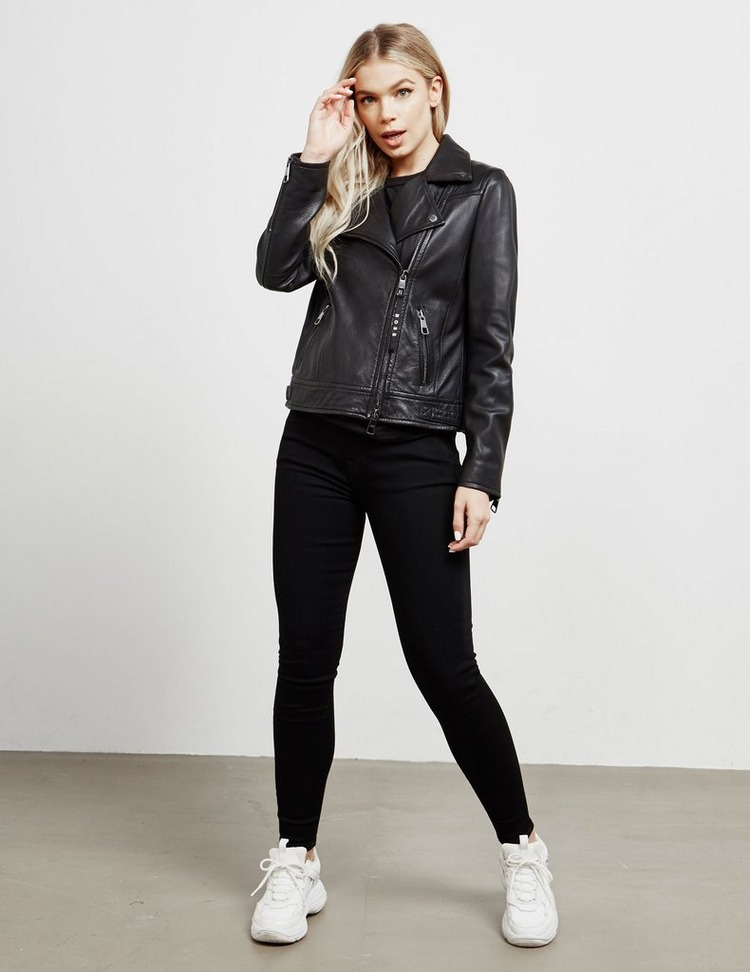 BOSS Biker Leather Jacket