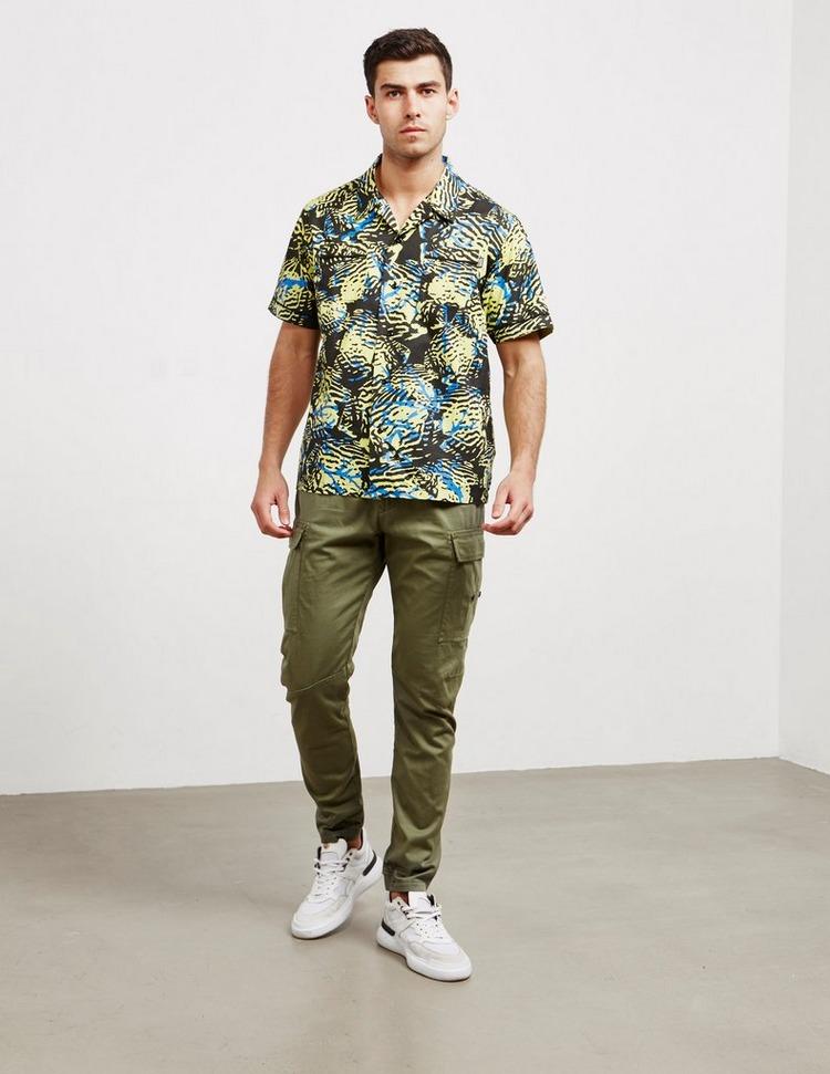Billionaire Boys Club All Over Print Short Sleeve Shirt