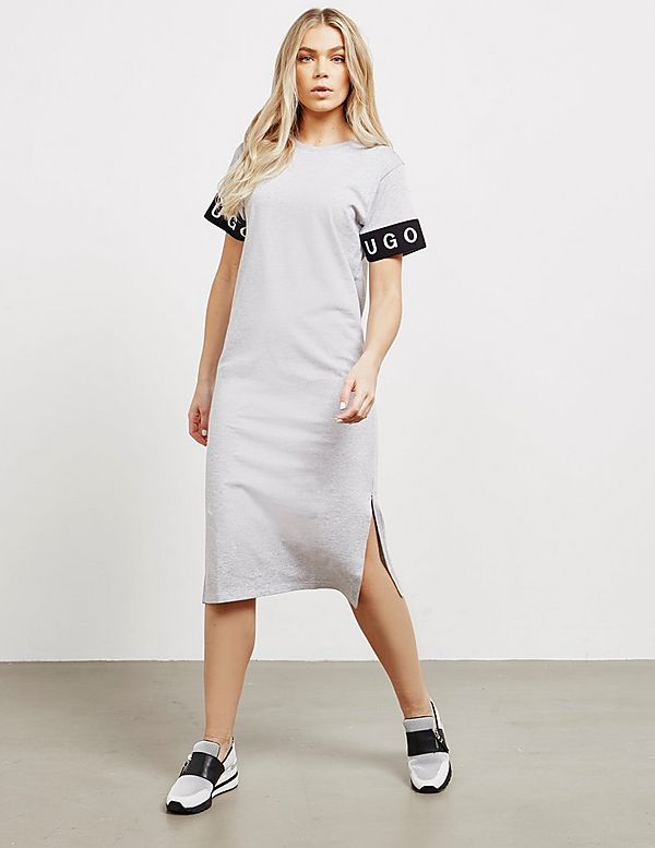 HUGO Logo T-Shirt Dress