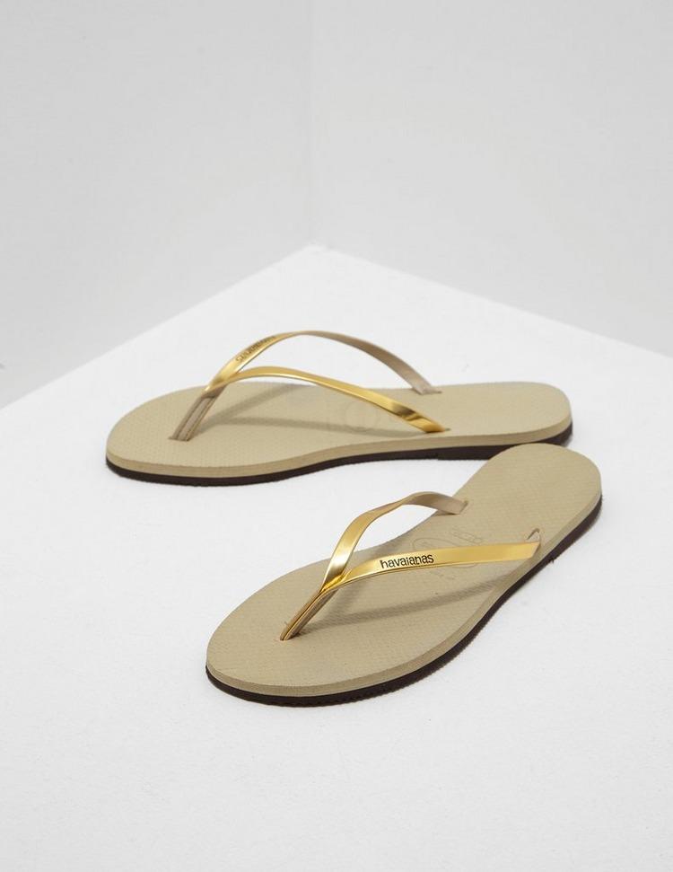 Havaianas Metallic Flip Flops