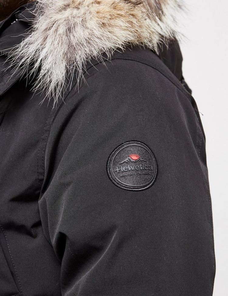 Helvetica Montreal Padded Bomber Jacket