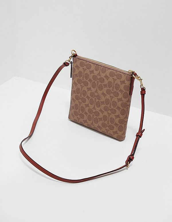 COACH Block Signature Shoulder Bag
