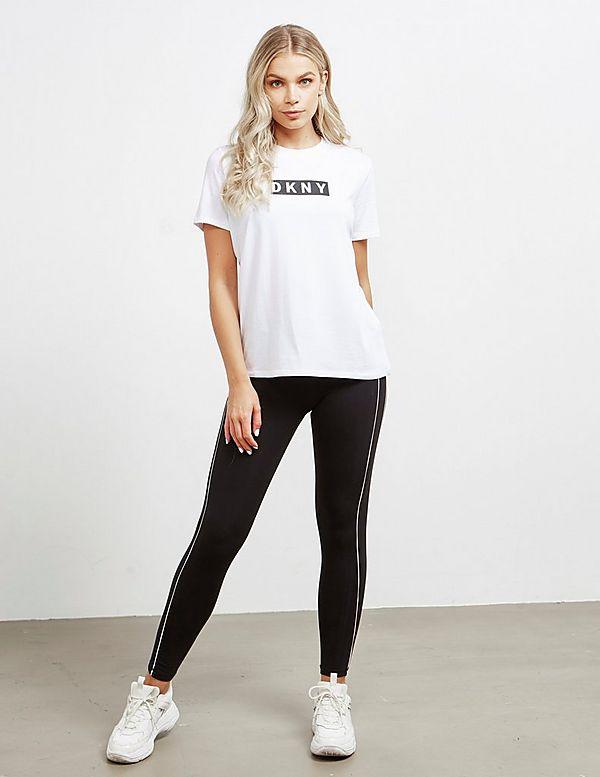 DKNY Box Logo Short Sleeve T-Shirt