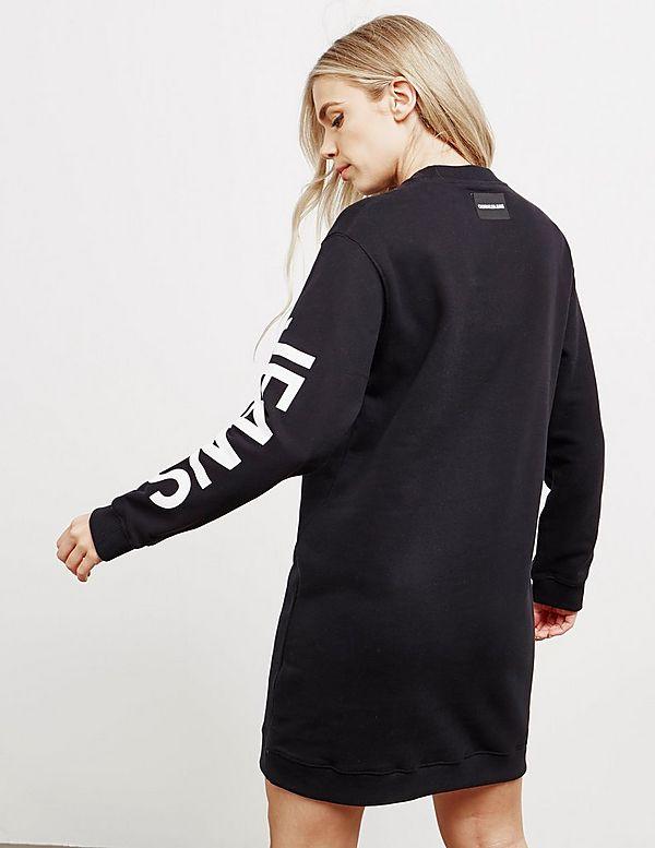 Calvin Klein Jeans Arm Logo Dress