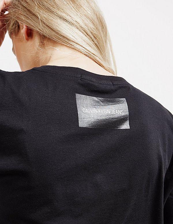 Calvin Klein Jeans Boyfriend Crop Short Sleeve T-Shirt
