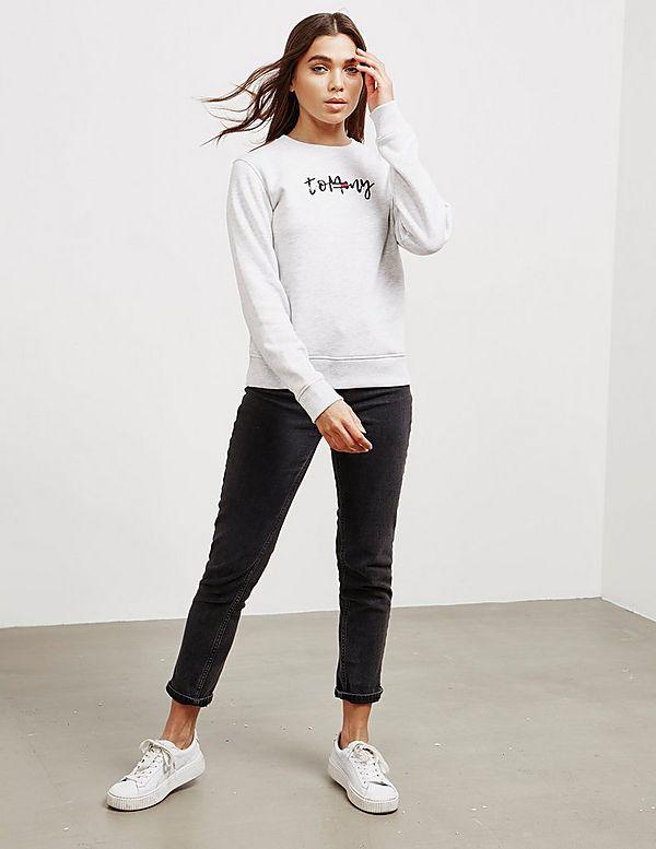 Tommy Jeans Script Sweatshirt