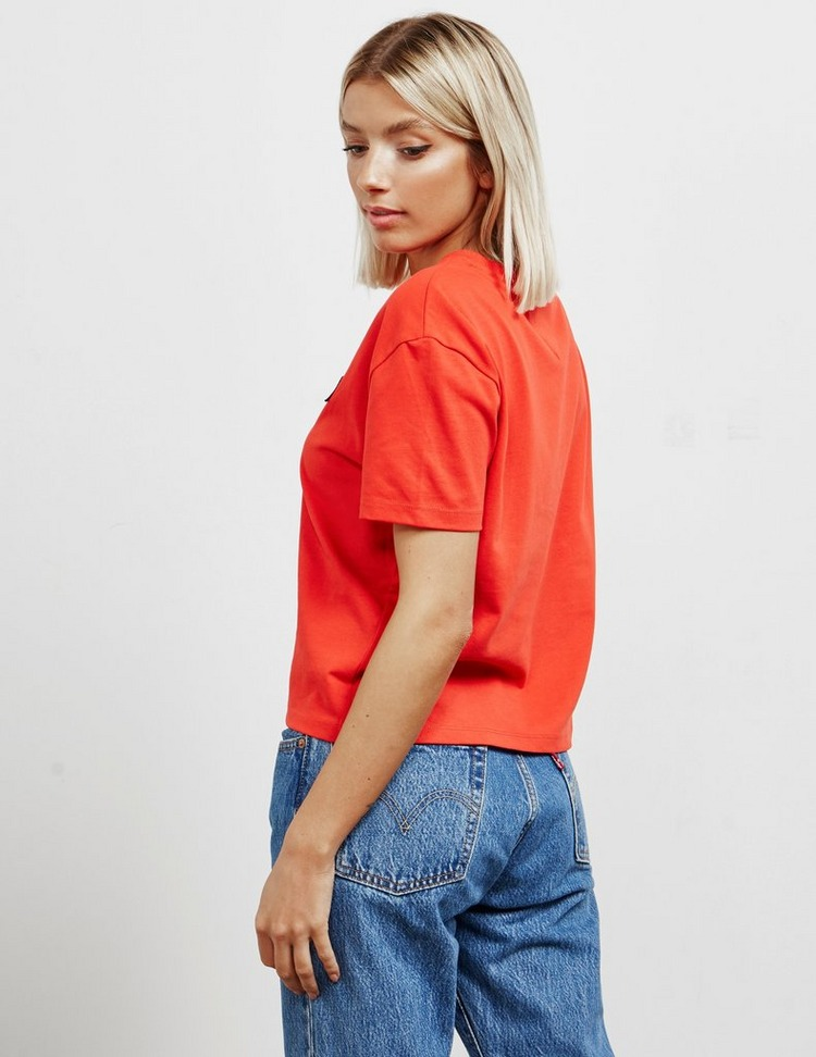 Tommy Jeans Badge Crop Short Sleeve T-Shirt