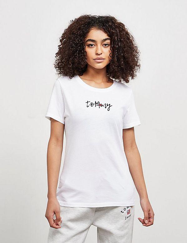Tommy Jeans Script Short Sleeve T-Shirt