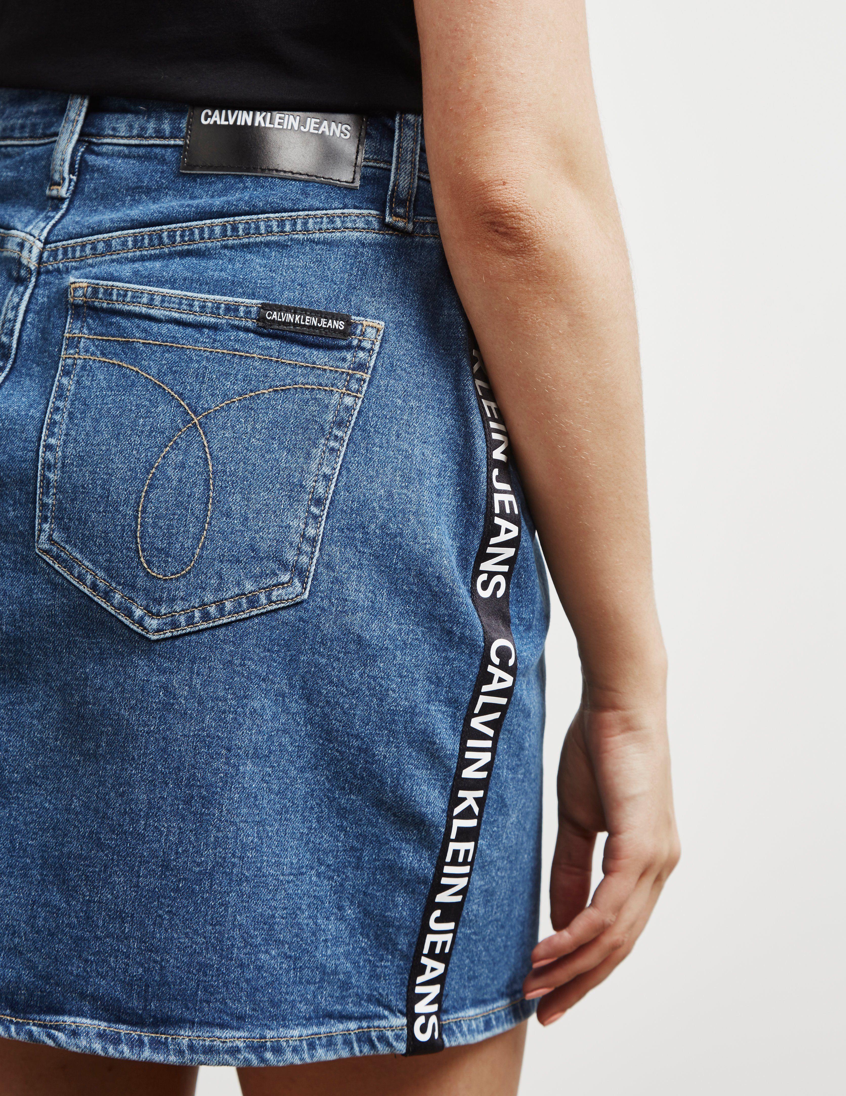 Calvin Klein Jeans Tape Skirt