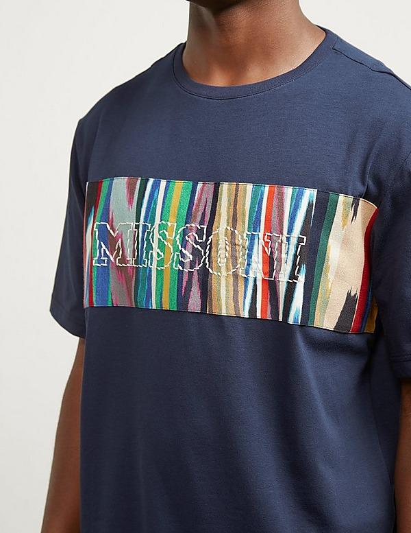 Missoni Stitch Logo Short Sleeve T-Shirt