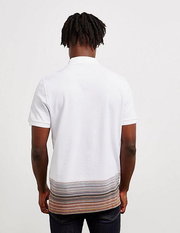 0a0d5c720b410 Missoni Bottom Dye Short Sleeve Polo Shirt | Tessuti