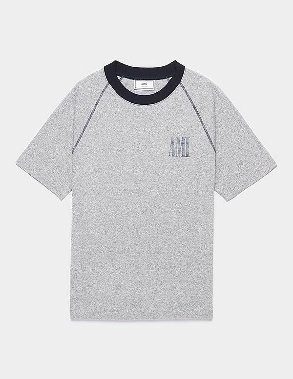 AMI Paris Bicolour T-Shirt