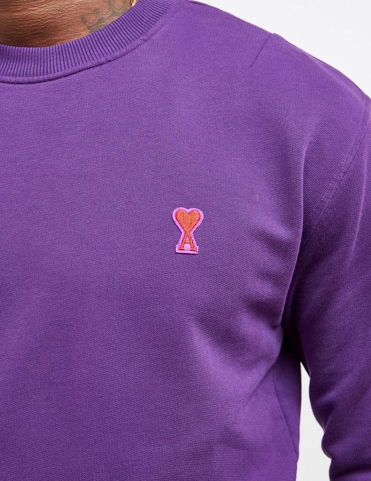 AMI Paris Heart Logo Sweatshirt