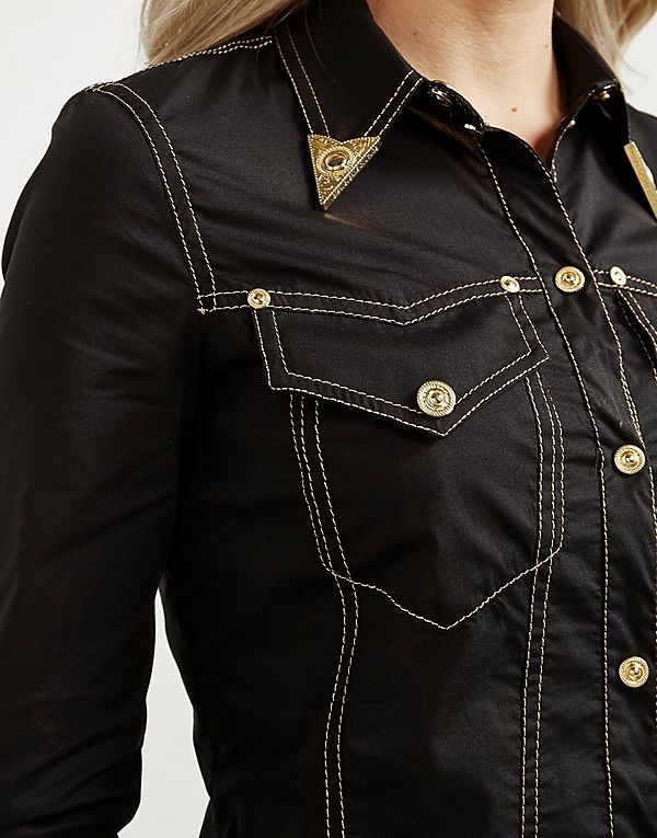 Versace Jeans Couture Western Long Sleeve Shirt