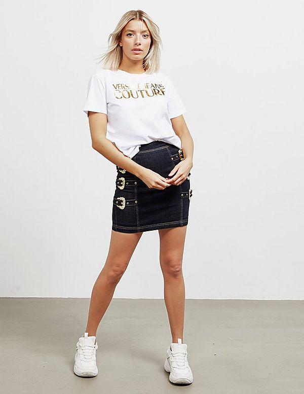 Versace Jeans Couture Foil Logo Short Sleeve T-Shirt