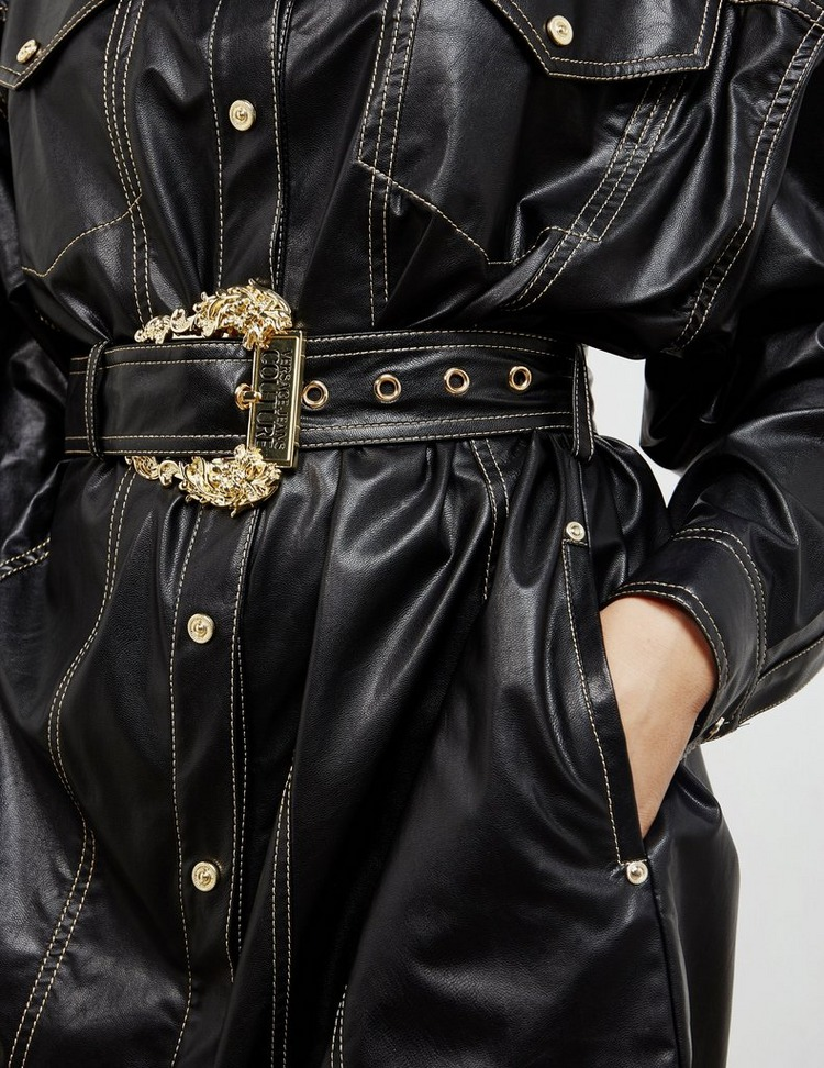 Versace Jeans Couture Buckle Dress
