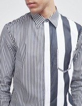 Maison Margiela Stripe Long Sleeve Shirt