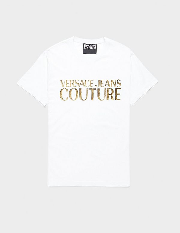 Versace Jeans Couture Corporate Logo Short Sleeve T-Shirt
