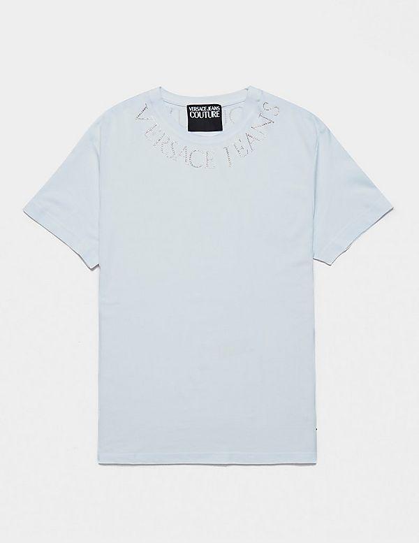 Versace Jeans Couture Neck Logo Short Sleeve T-Shirt