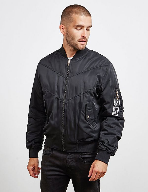Versace Jeans Couture Label Bomber Jacket