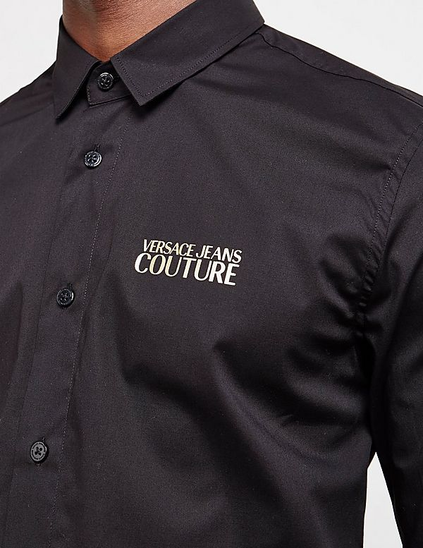 Versace Jeans Couture Small Logo Long Sleeve Shirt