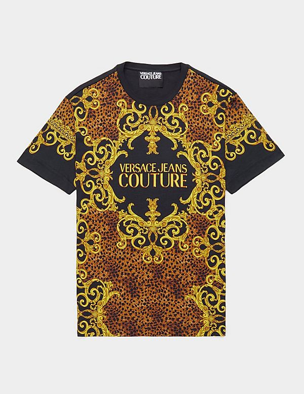 Versace Jeans Couture All Over Print Leo Short Sleeve T-Shirt