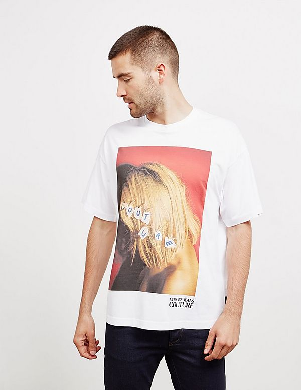Versace Jeans Couture 3/5 Wood Short Sleeve T-Shirt
