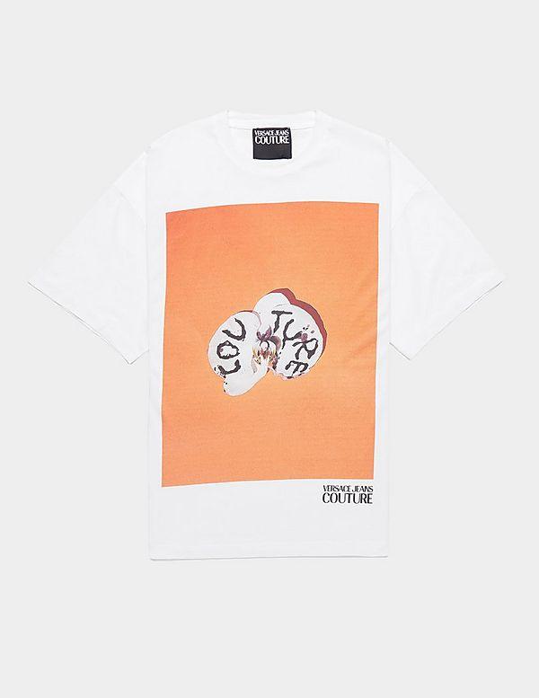 Versace Jeans Couture 5/5 Flower Short Sleeve T-Shirt