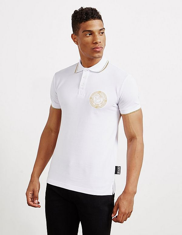 Versace Jeans Couture Medal Short Sleeve Polo Shirt