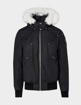 Moose Knuckles Ballistic Fur Bomber Jacket