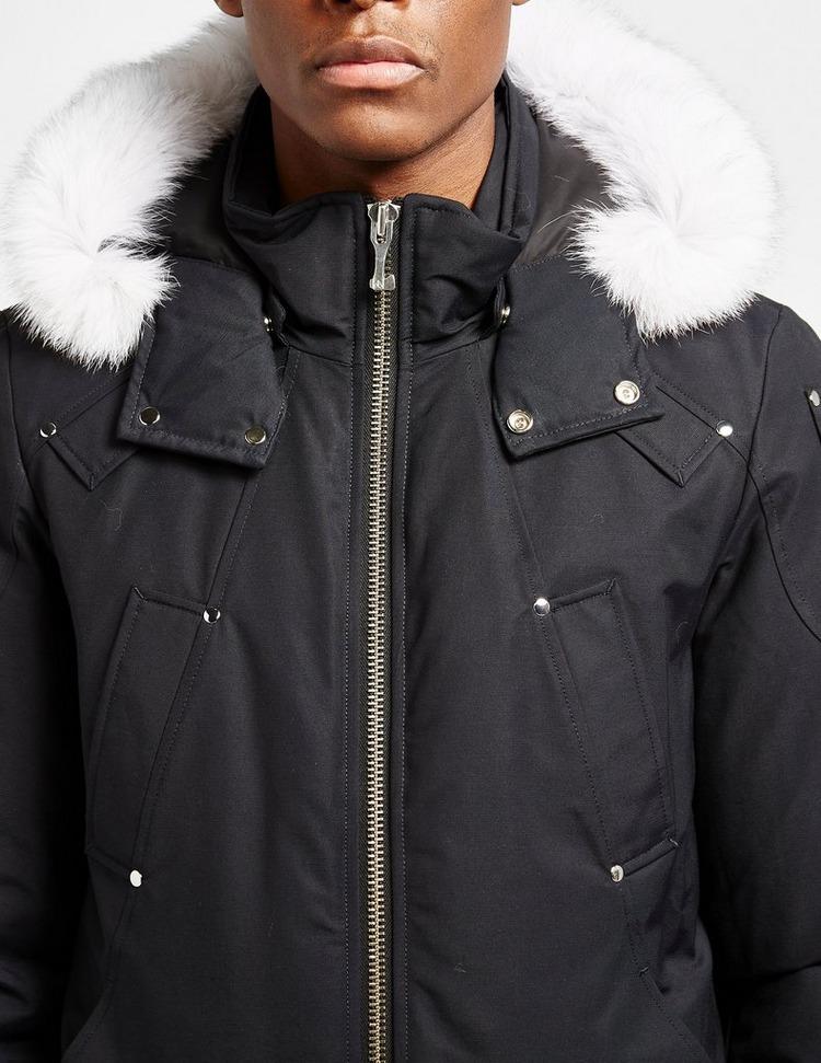 Moose Knuckles Ballistic Fur Bomber Jacket