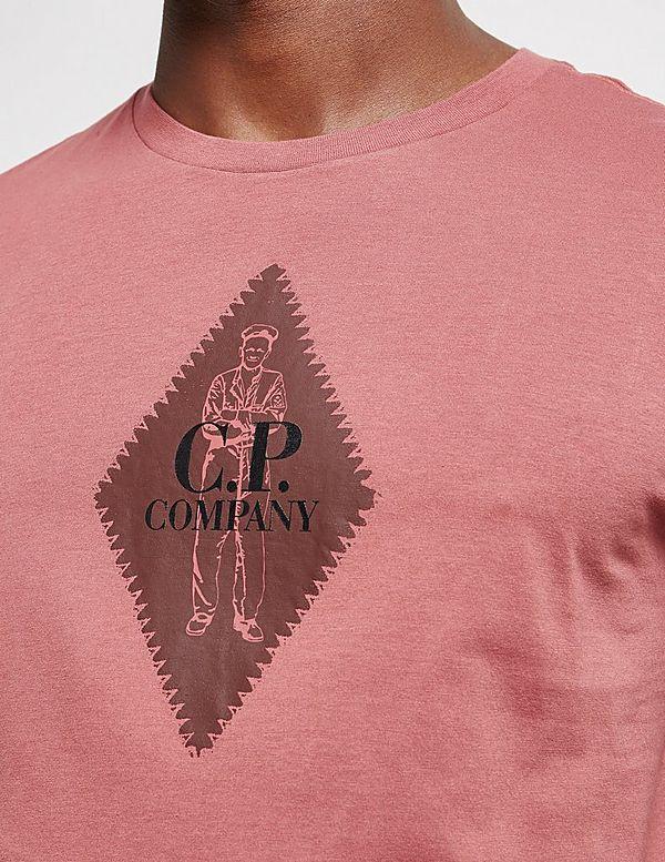 CP Company Diamond Logo Short Sleeve T-Shirt